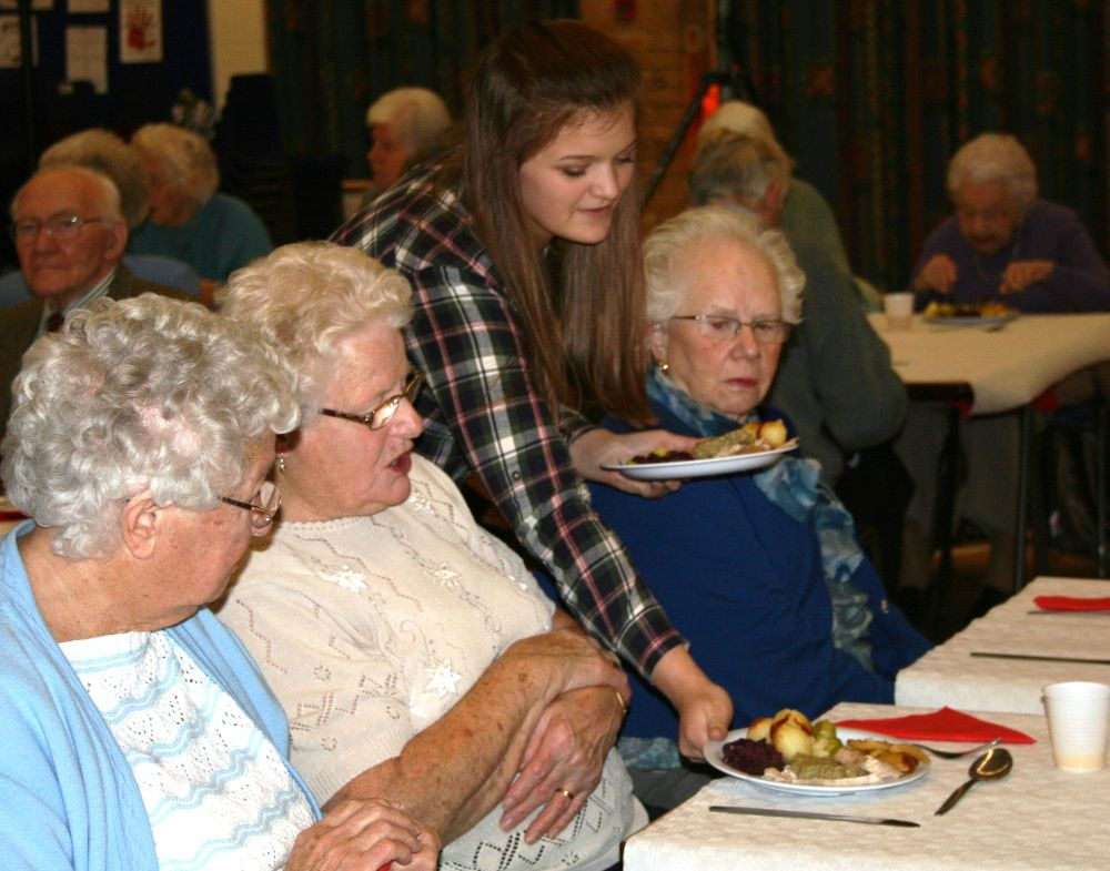Seniors Lunch Club Christmas Lunch
